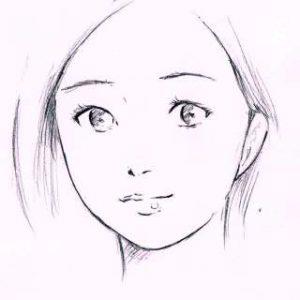 リアルな絵の描き方-ほうれい線の書き方1