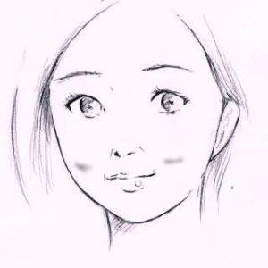 リアルな絵の描き方-ほうれい線の書き方5