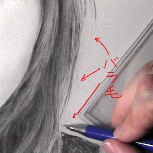 リアルな絵の描き方-バラ毛