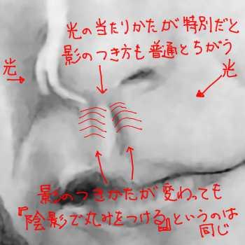 リアルな絵の描き方-人中解説画像6-2