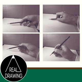リアルな絵の描き方-鉛筆の持ち方サムネイル
