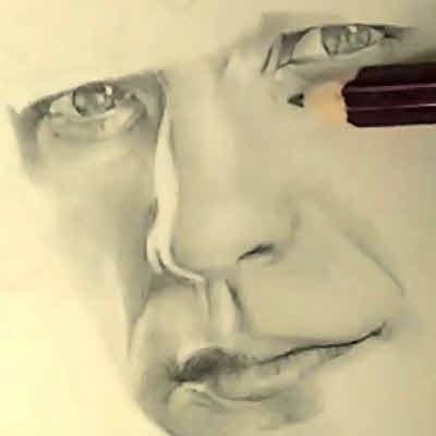 リアルな絵の描き方-鼻の書き方画像13