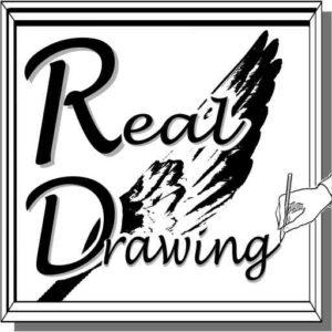 リアル絵のリアルドローイングロゴ512x512