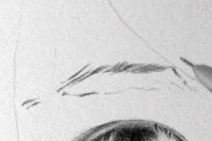 リアル絵の眉毛の書き方画像1