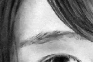 リアル絵の眉毛の書き方画像完成