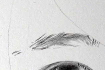 リアル絵の眉毛の書き方画像2