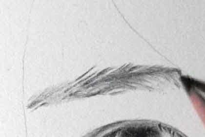 リアル絵の眉毛の書き方画像5