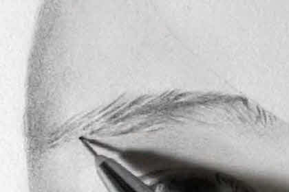 リアル絵の眉毛の書き方画像7