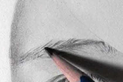 リアル絵の眉毛の書き方画像8
