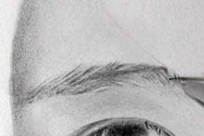 リアル絵の眉毛の書き方画像9