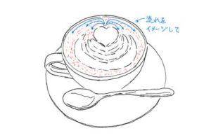 リアル絵スケッチ-ラテアート14