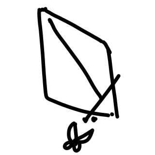 握った手の絵の書き方2
