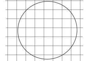 方眼を使ったリアル絵の下書きの描き方-原画画像2