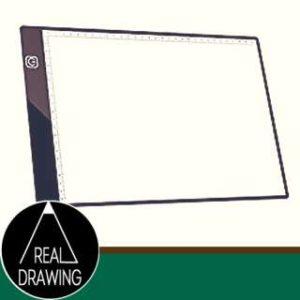 絵の書き方-トレース台を活用する-セピア