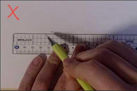 絵の書き方-定規の線の引き方4