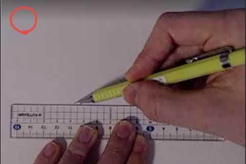 絵の書き方-定規の線の引き方5