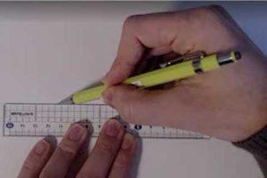 絵の書き方-定規の線の引き方7