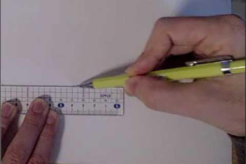 絵の書き方-定規の線の引き方8