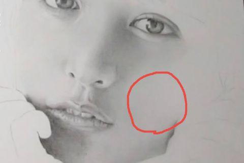 リアルな絵の描き方-頬の書き方画像9