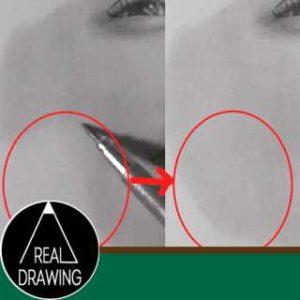 鉛筆画のリアルな絵の描き方-肌の書き方サムネイル