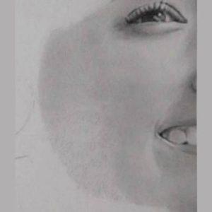 鉛筆画のリアルな絵の肌のぼかし方3