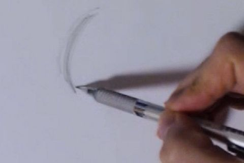 リアルな絵の描き方-絵を描くときの関節の使い方3