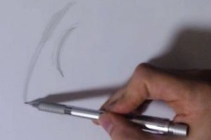 リアルな絵の描き方-絵を描くときの関節の使い方6