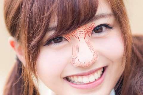 18-輪郭無しの鼻の絵の描き方やコツの解説用影まとめ