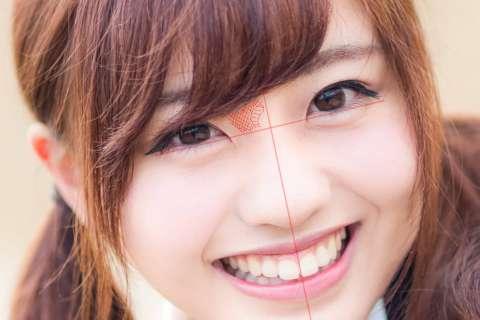 3-輪郭無しの鼻の絵の描き方やコツの解説用眉間右側影