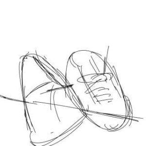 イラストの描き方-アタリの書き方