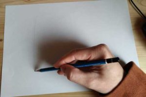 イラストの描き方-鉛筆の持ち方4