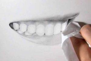 リアルな絵の描き方-歯の描き方32