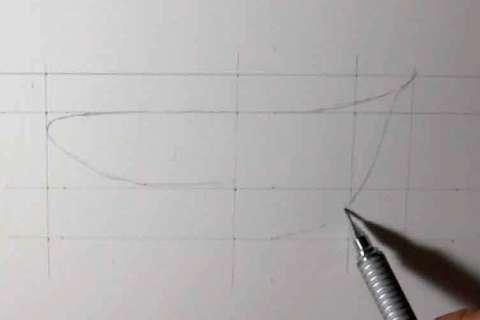 リアルな絵の描き方-歯の描き方6-1