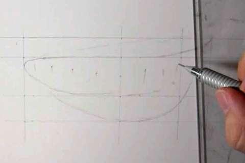 リアルな絵の描き方-歯の描き方7-1