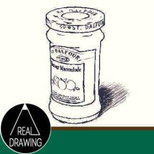 リアルな絵の描き方-ママレードのスケッチの書き方サムネイル