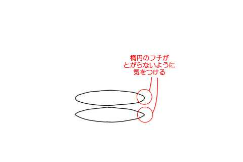 リアルな絵の描き方-円筒のスケッチの書き方14