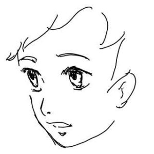 リアルな絵の描き方-左右反転サンプル1