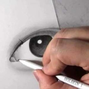 リアルな絵の描き方-目の書き方10-1