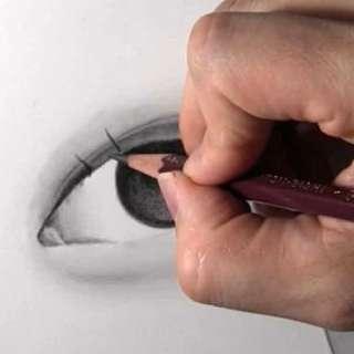 リアルな絵の描き方-目の書き方10-2