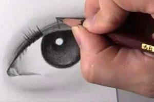リアルな絵の描き方-目の書き方10