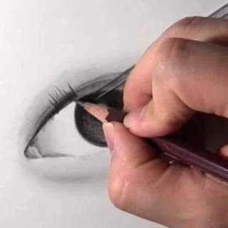 リアルな絵の描き方-目の書き方10-4