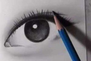 リアルな絵の描き方-目の書き方13