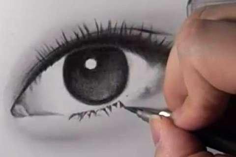 リアルな絵の描き方-目の書き方14