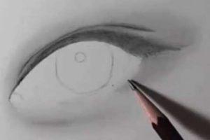 リアルな絵の描き方-目の書き方4