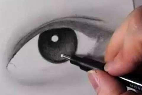 リアルな絵の描き方-目の書き方7