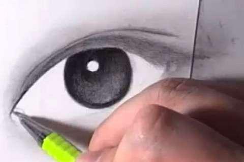 リアルな絵の描き方-目の書き方8