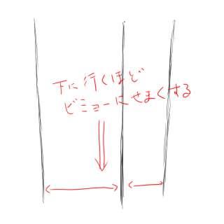 リアルな絵の描き方-立方体のスケッチの書き方02-2