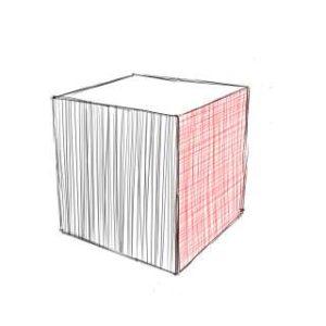 リアルな絵の描き方-立方体のスケッチの書き方11