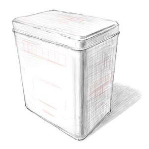 リアルな絵の描き方-紅茶の缶のスケッチの書き方_12
