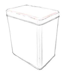 リアルな絵の描き方-紅茶の缶のスケッチの書き方_8